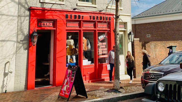 Reddz Trading Georgetown storefront
